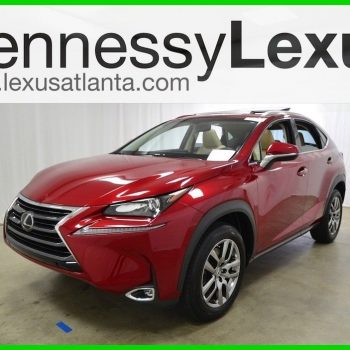 Amazing 2015 Lexus NX 4DR FWD 2015 4DR FWD Used Certified Turbo 2L I4 16V Automatic FWD SUV Premium 2018-2019