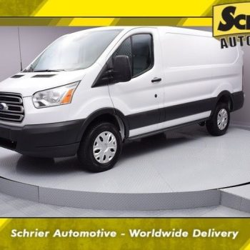 Awesome 2016 Ford Transit Connect — 2016 Ford Transit-250 Base 19,570 Miles Oxford White 3D Low Roof Cargo Van 3.7L 2018-2019