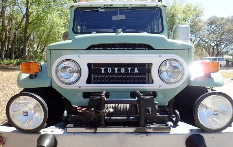 """Item specifics Condition: Used Seller Notes: """"Very good original condition, shows some wear as shown, drives welL adult owner"""" Year: 1974 VIN (Vehicle Identification Number): fj40165036 Mileage: 117,977 Transmission: Manual Make: Toyota Vehicle Title: Clear Model: Land Cruiser Options: 4-Wheel Drive, Leather Seats Power Options: Air Conditioning Exterior Color: Green Fuel Type: Gasoline Interior Color: […]"""