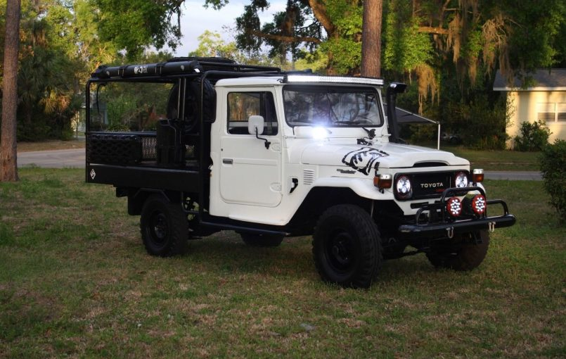 "Item specifics Condition: Used Seller Notes: ""This is a custom build used truck restored."" Year: 1979 Mileage: 75,000 Number of Cylinders: 6 Make: Toyota Transmission: Manual Model: Land Cruiser Body Type: Extended Cab Pickup Trim: Tuanis Build Warranty: Vehicle does NOT have an existing warranty Engine: Inline 6H 3.6L Vehicle Title: Clear Drive Type: 4WD […]"