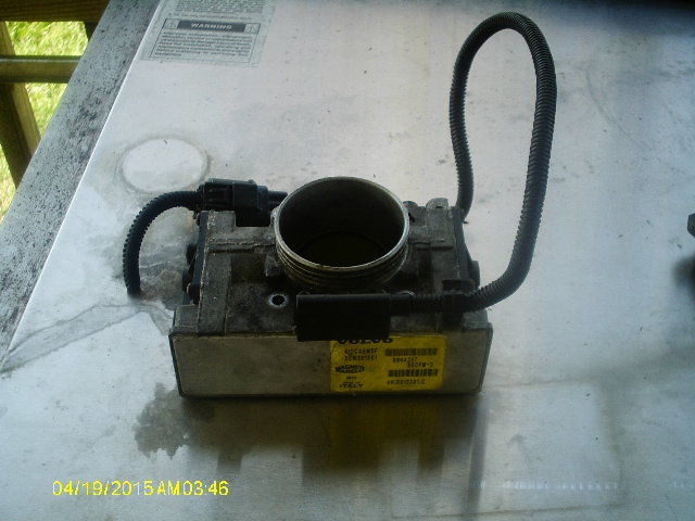 Item specifics Condition: Used Brand: Volvo 1999 2000 2001 2002 C70 S60 S70 S90 V70 VOLVO THROTTLE BODY