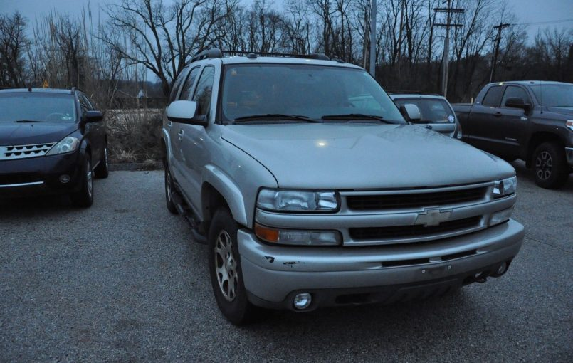 """Item specifics Condition: Used Seller Notes: """"TRUCK RUNS GREAT WE SHIP OUR OWN CARS AND TRUCKS CALL 4432261444 FOR QUOTE"""" Year: 2005 VIN (Vehicle Identification Number): JN8AZ08W57W638291 Mileage: 169,118 Transmission: Automatic Make: Chevrolet Body Type: SUV Model: Tahoe Warranty: Vehicle does NOT have an existing warranty Engine: 8 Vehicle Title: Clear Drive Type: 4WD Options: […]"""