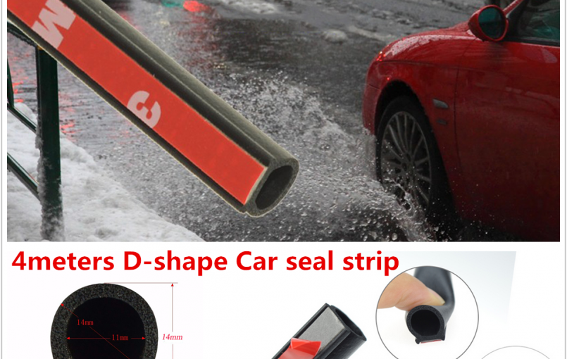 Item specifics Condition: New Brand: Unbranded Feature: excellent flexibility, excellent waterproof Manufacturer Part Number: Does Not Apply Used On: car doors, boot,door frame, window Placement on Vehicle: Left, Right, Front, Rear Size: 400cm*14mm*12mm(Length x Width x Heigth) Warranty: 6 Month Material: Made with EPDM rubber Color: Black Interchange Part Number: Does Not Apply Package: 4M […]