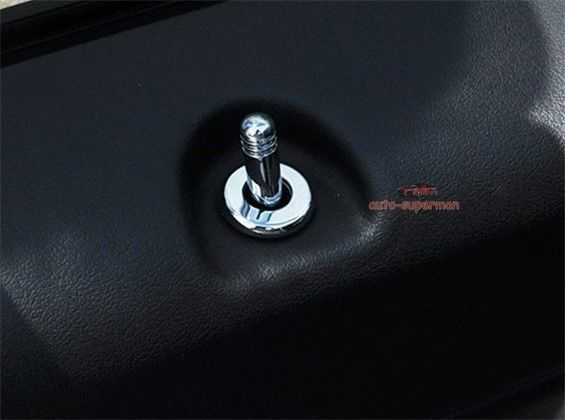 Item specifics Condition: New Brand: Unbranded/Generic Warranty: Other Manufacturer Part Number: Does not apply UPC: Does not apply Chrome Door Lock Pin Pins knob cover trim For jeep compass Patriot 2007-2017
