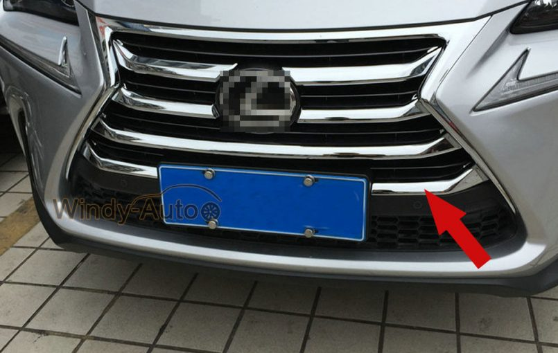 Item specifics Condition: New Brand: Wenkai Warranty: 90 Day Manufacturer Part Number: Does not apply Fitment Type: Performance/Custom Surface Finish: Smooth Country/Region of Manufacture: China UPC: 763383072988 Front Grill Grille Trim For Lexus NX200T NX300H 2015 2016 2017 2018 7PCS Chrome
