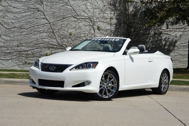 Item specifics Condition: Certified pre-owned Year: 2015 VIN (Vehicle Identification Number): JTHFF2C25F2533426 Mileage: 8,962 Interior Color: Gray Make: Lexus Transmission: Automatic Model: IS Body Type: Convertible Trim: LUXURY / NAVIGATION Warranty: Unspecified Engine: 2.5L V6 Cylinder Engine Vehicle Title: Clear Drive Type: 2dr Conv Options: — Power Options: — Sub Model: LUXURY / NAVIGATION Fuel […]