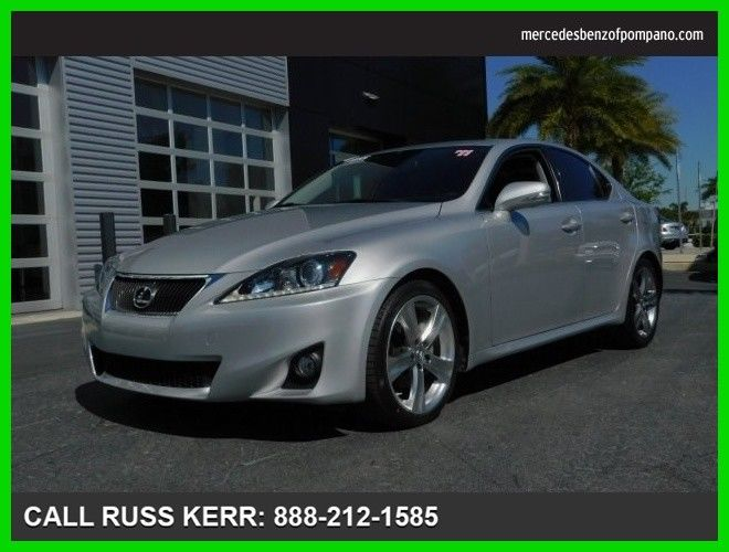 Item specifics Condition: Used Year: 2011 VIN (Vehicle Identification Number): JTHBF5C23B5137746 Mileage: 48,935 Transmission: Automatic Make: Lexus Body Type: Sedan Model: IS Warranty: Vehicle does NOT have an existing warranty Engine: 2.5L V6 Cylinder Engine Vehicle Title: Clear Drive Type: Rear Wheel Drive Fuel Type: Gasoline For Sale By: Dealer Sub Model: Sedan Manufacturer Interior […]