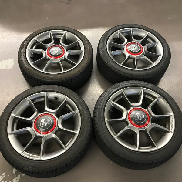 Great 16″ Fiat 500 Abarth Wheels With Tires 2020
