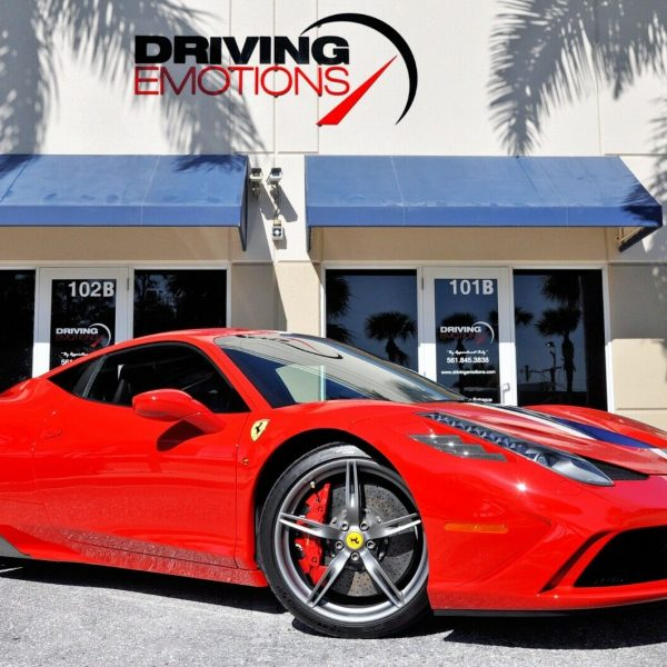 Awesome 2015 Ferrari 458 Speciale 2015 FERRARI 458 SPECIALE! RED/BLACK!  LEATHER UPHOLSTERY! CARBON FIBER! LOADED!! 2019,2020