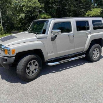 Used 2006 Hummer H3  2006 Hummer H3 SUV Grey 4WD Automatic 2020