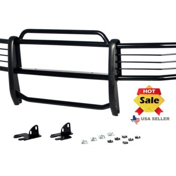 Used Fits 2006-2011 Hummer H3 Brush Grill Grille Guard in Black Brush Bumper 2019