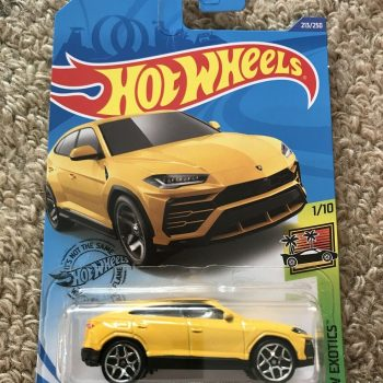 Used Hot Wheels 17 Lamborghini Urus Yellow Hw Exotics 2020
