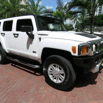 Used 2008 Hummer H3 4WD 4dr SUV Luxury 2008 HUMMER H3 4WD 4dr SUV Luxury 142561 Miles Birch White SUV 3.7L 5 CYLINDER A 2020
