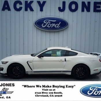Used 2020 Ford Mustang Shelby GT350 #L0237 2020 Ford Mustang, Wimbledon White with 9 Miles available now! 2019-2020
